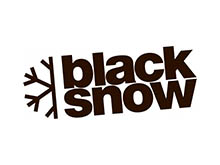 Black snow logo